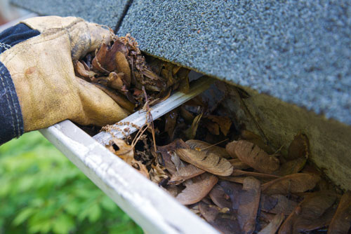 Rotten Trim & Siding Repairs, New Gutters & Leaf Protection, Caulking & Painting at All Phases Home Services
