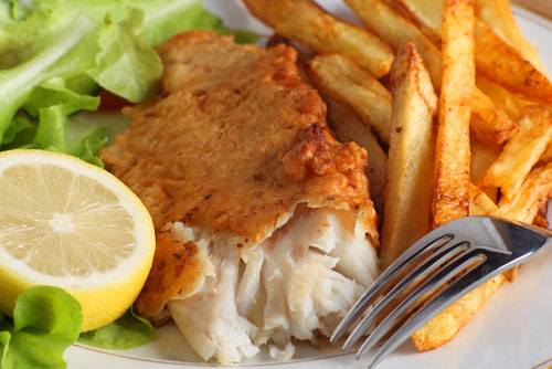 $5.79 2 Pc. Fish & Chips at Cousin's Tasty Chicken