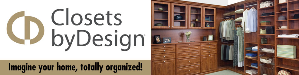 Closets By Design in Metro Detroit banner