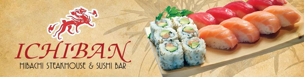 Ichiban Hibachi Steakhouse & Sushi Bar in Canton, MI banner