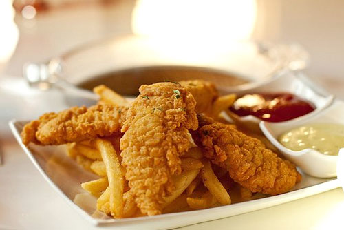 $2 OFF 10 Pc. Chicken Tender Meal at Cousin's Tasty Chicken