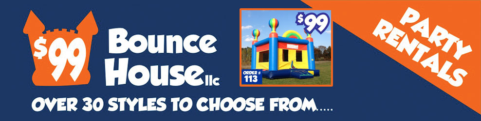 $99 Bounce House in New Haven, MI banner