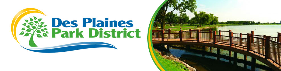 Des Plaines Park District banner