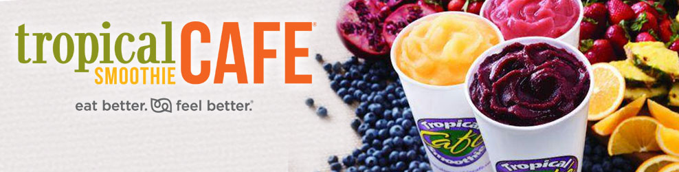 Tropical Smoothie Cafe in Clawson, MI banner
