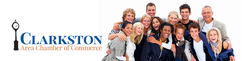 Clarkston Area Chamber of Commerce banner