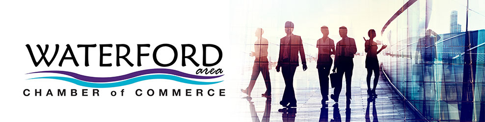 Waterford Area Chamber of Commerce banner