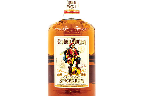 $25.99 Captain Morgan Spiced Rum at Dundee Exxon