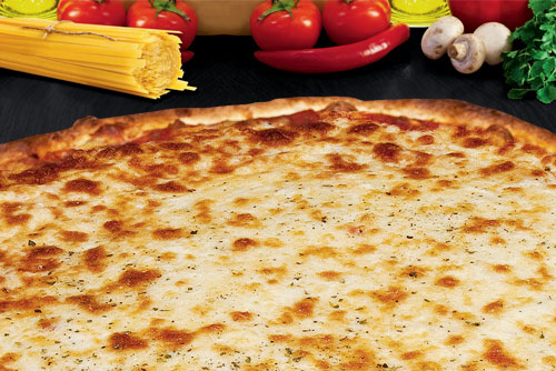 """FREE 12"""" Cheese Thin Crust Pizza with Purchase of 18"""" Pizza at Rosati's"""