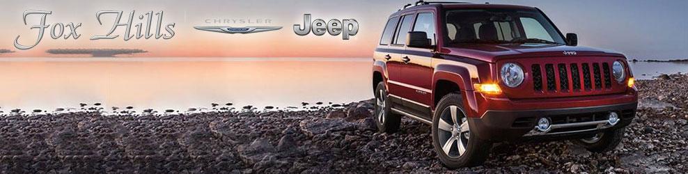 Fox Hills Chrysler Jeep in Plymouth, MI banner