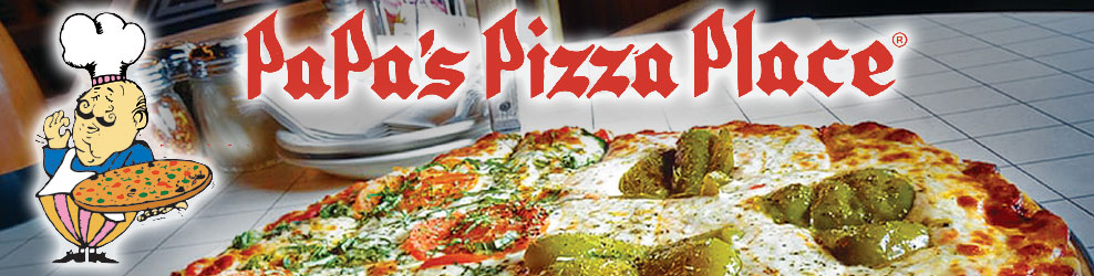 Papa's Pizza Place in Woodridge, IL banner