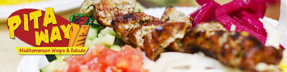 Pita Way Mediterranean Wraps & Salads in Troy, MI banner