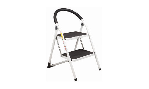 $19.99 Two Tier Easy-Store Step Ladder at Harbor Freight