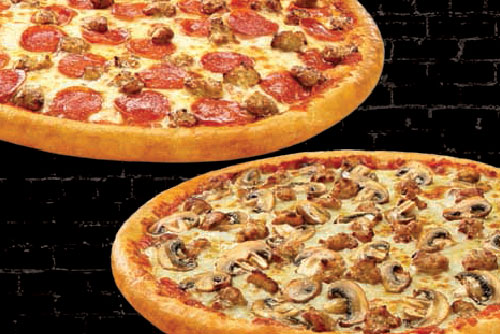 $24.99 2 Large 2-Topping Pizzas & Single Order of Original Topperstix™ at Toppers Pizza