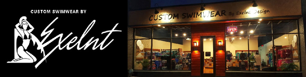 Custom Swimwear by Exelnt in Royal Oak, MI banner