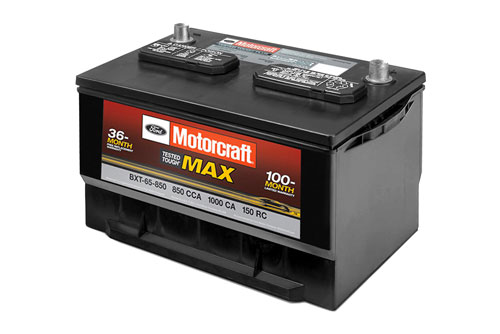 Motorcraft Tested Tough Max Batteries Starting at $129.95 MSRP* at Russ Milne