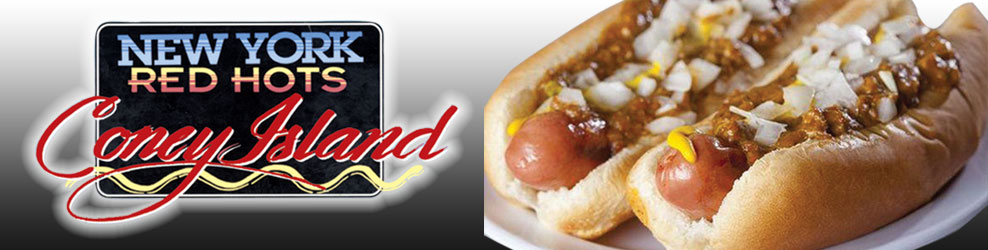 New York Red Hots Coney Island in Madison Hts., MI banner