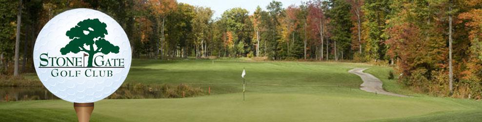 Stone Gate Golf Club in Twin Lake, MI banner