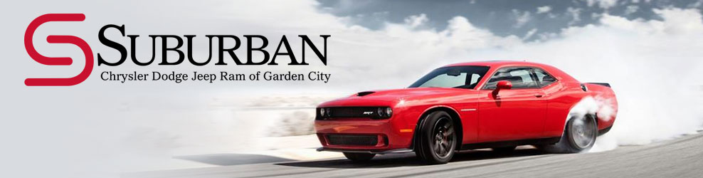 Suburban Chrysler Dodge Jeep Ram of Garden City banner