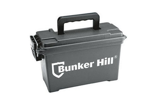 $3.49 Bunker Hill Ammo Dry Box at Harbor Freight