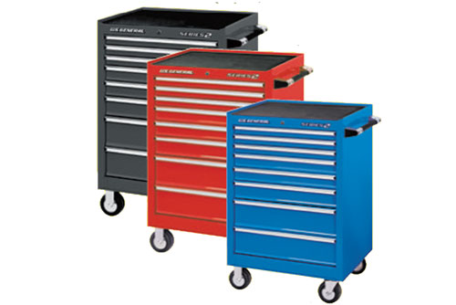 "$279.99 US General 26"" x 22"" Single Bank Extra Deep Cabinets at Harbor Freight"