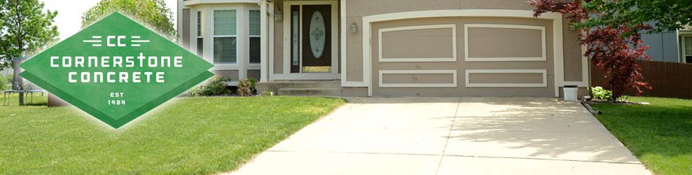 Cornerstone Concrete in Stillwater, MN banner