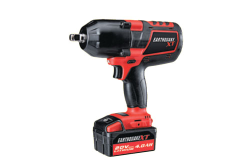 "$239.99 Earthquake 20 Volt Lithium Cordless Extreme Torque 1/2"" Impact Wrench Kit at Harbor Freight"