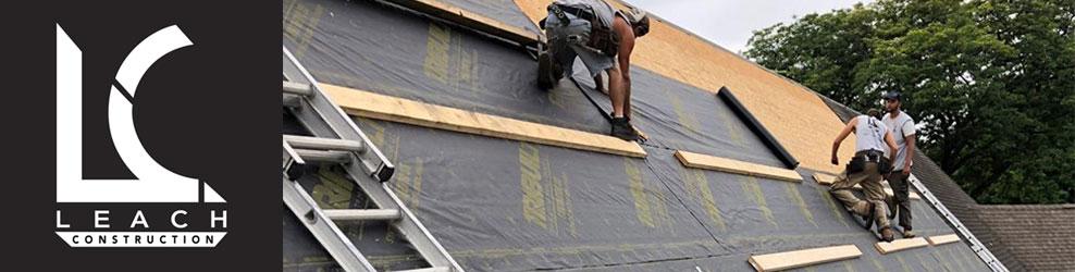 Leach Construction in St. Clair Shores, MI banner