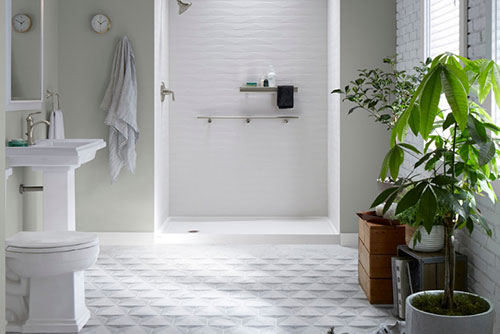 $500 OFF LuxStone Wall System PLUS 24 Months Same As Cash from New Bath Today