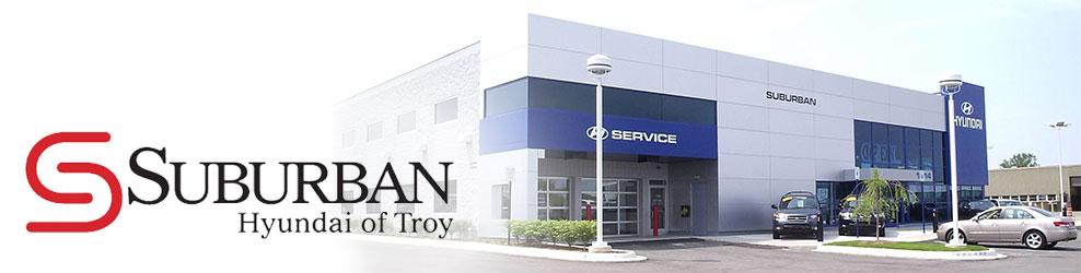Suburban Hyundai of Troy, MI banner
