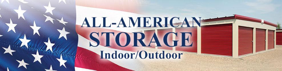 All-American Storage in Northville, MI banner