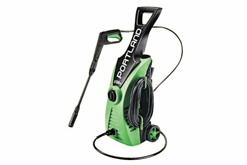 $79.99 Portland 1750 PSI Electric Pressure Washer at Harbor Freight