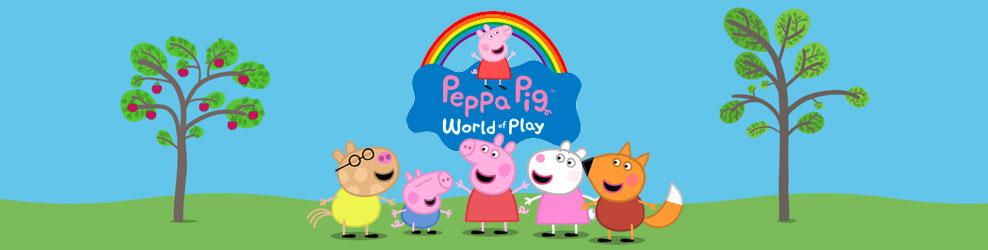 Peppa Pig World of Play Michigan in Auburn Hills, MI banner