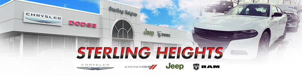 Sterling Heights Chrysler Dodge Jeep RAM, Inc. of Michigan banner