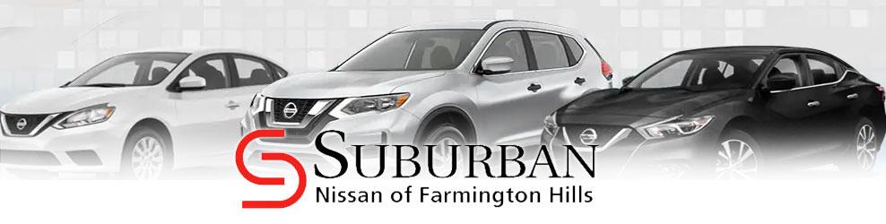 Suburban Nissan of Farmington Hills banner