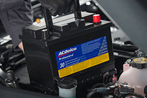 $184.50* Most ACDelco Professional Gold Batteries Installed at Lunghamer Buick GMC