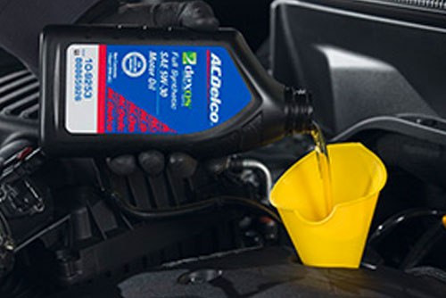 $59.95* 6-Qt ACDelco dexos1 Full Synthetic Oil Change & Tire Rotation at Lunghamer Buick GMC