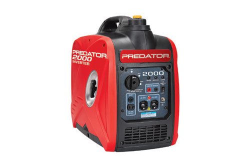 $479.99 Predator 2000 Watt Super Quiet Inverter Generator at Harbor Freight