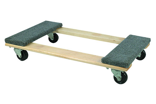 "$11.99 Haul Master 30""x18"" Hardwood Dolly at Harbor Freight"