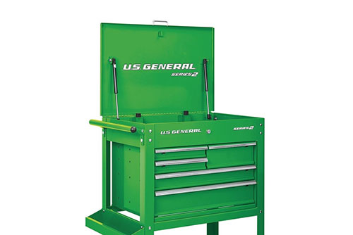 "$199.99 U.S. General 30"" 5 Drawer Mechanic's Card at Harbor Freight"