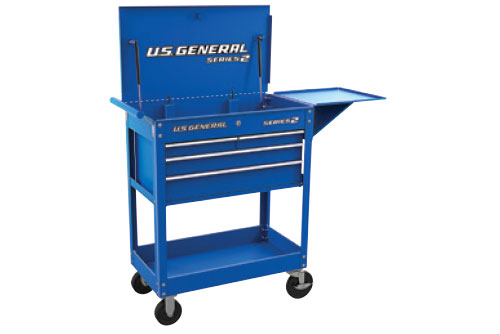 "$149.99 U.S. General 30"" 4 Drawer Tech Cart at Harbor Freight"