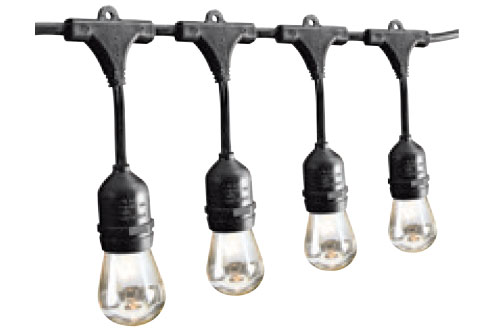 $21.99 Luminar Outdoor 24 Ft. 18 Bulb 12 Socket Outdoor Linkable String Lights at Harbor Freight