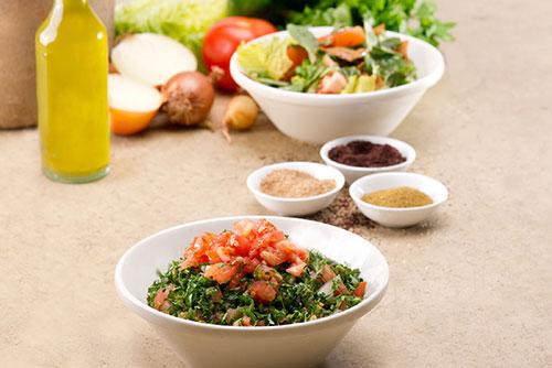 FREE Small Fattoush Salad Thursday Special at Troy Kabob