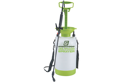 $9.99 Greenwood 1-1/4 Gallon Home & Garden Sprayer at Harbor Freight
