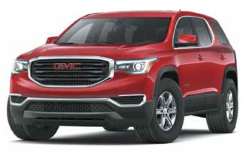 2020 GMC Acadia SLE $275 36 Month Lease at Bob Jeannotte Buick GMC