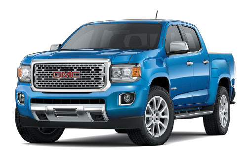 2020 GMC Canyon Crew Cab Denali 4WD $219 24 Month Lease at Bob Jeannotte Buick GMC