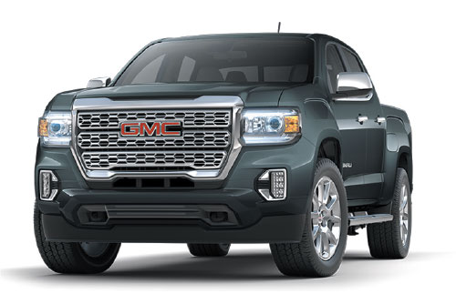 2021 GMC Canyon Crew Cab Denali 4WD $199 27 Month Lease at Bob Jeannotte Buick GMC