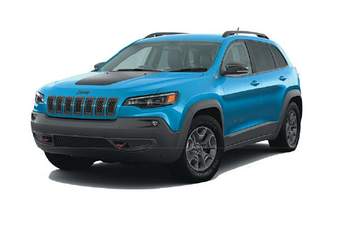 New 2020 Jeep Cherokee Trailhawk 4x4 $204.57*/mo. Lease