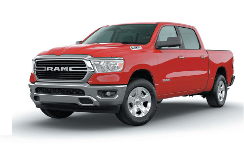 New 2020 Ram 1500 Big Horn Crew Cab 4x4 $166.88*/mo. Lease