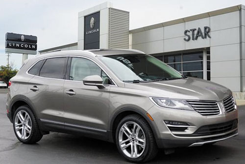 2017 Lincoln MKC Reserve SUV $25,299** Certified Pre-Owned