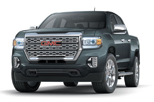 2021 GMC Canyon Crew Cab Denali 4WD $179 36 Month Lease at Bob Jeannotte Buick GMC